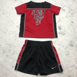 Nike Just Do It 12M Boys Athletic Two-Piece Set